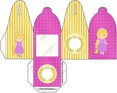 Caixa com Foto Princesa Loira Princess Rapunzel, Kids Rugs, Home Decor, Party Kit, Kids Part, Box, Princess, Decoration Home, Kid Friendly Rugs
