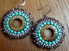 Brick Stitch Earrings