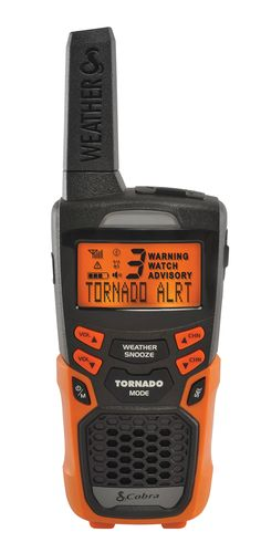 The Cobra CWR200 is an All-Hazards-Alert weather radio with new weather alert features that make it Cobra Electronics' most advanced all-purpose weather radio to-date. As a NOAA Weather and Emergency Radio, users receive alerts to over 60 emergency related events such as tornados, hurricanes, blizzards, natural disasters, civil emergencies and more. As well, the CWR200 features Specific Area Messaging Encoding (S.A.M.E), allowing users to filter and receive alerts concerning only their local…