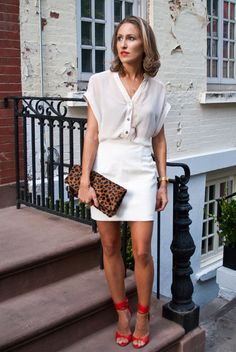 So Says Margot blog featured the Printed Leather Mini Skirt by #AmericanApparel.  #SoSaysMargot #bloggers #leatherskirt