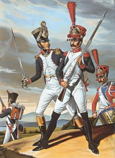 French Line Infantry, 1808-1810