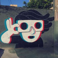 Put your on and enjoy the life mural urbano, arte de calle, murales graf Murals Street Art, Graffiti Art, 3d Street Art, Amazing Street Art, Mural Art, Street Artists, Street Graffiti, Art And Illustration, Foto 3d