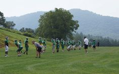 Early sports training for the Greenies is almost complete!