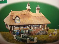 US $85.95 New in Collectibles, Decorative Collectibles, Decorative Collectible Brands Dept 56 Dickens Village, Gingerbread, Box, Christmas, Gifts, Xmas, Snare Drum, Presents, Ginger Beard