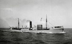 Het vrachtschip ss 'Blitar' (1923)   van de Rotterdamsche Lloyd,  http://koopvaardij.blogspot.nl/2016/04/5-april-1943.html