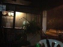 Le e Lu on the eat: - a lot of smoke in the oven.... Che-ra-ting