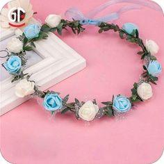 Beautiful led flower lei for girls! tina@chinaszshh.com