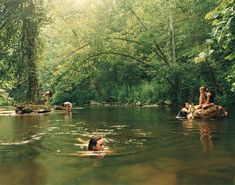 """On the anniversary of her project """"Girl Pictures,"""" the photographer Justine Kurland looks back at her now-iconic images. Justine Kurland, Swimming Holes, Summer Aesthetic, Summer Vibes, Places To Go, Beautiful Places, Scenery, Around The Worlds, Earth"""