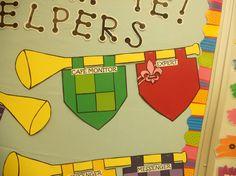 Callow's First Grade Castle!