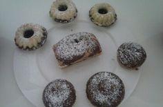 """Kleine, leckere """"schwarz-weiß"""" Kuchen! Yummy!!!"""