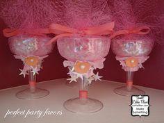 Cathie Filian: Altered Champagne Glasses and JuJu Belle Bracelets