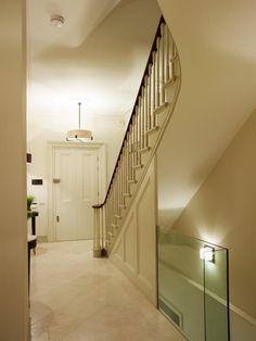Basement Conversions Cellar Conversion, Basement Conversion, Basement Entrance, Basement Stairs, Basement Ideas, Victorian Hallway, Victorian Terrace, Stair Paneling, Regency House