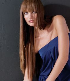 love long hair and bangs