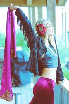 Mystic Farm w/Kinsey Scarves & Gaia Goddessa-- Magical Scarf Goodness. Shop gypsy style --- www.KinseyScarves.com