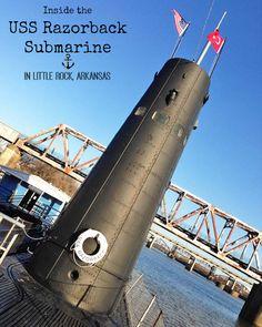 Inside the USS Razorback Submarine in Little Rock, Arkansas