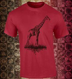 Playera con la Reina del África!!! Camiseta con Jirafa y estilo!!! de ArteImMrAmA en Etsy