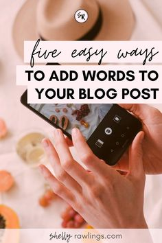 5 Easy Ways To Add Words To Your #Blog Post || #TipsForBloggers #Blogger #OnTheBlog #HowToBlog #BloggingHowTos || ShellyRawlings.com What If Questions, This Or That Questions, Blog Websites, Help Teaching, About Me Blog, Ads