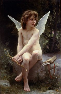 Bouguereau, Love on the Look Out