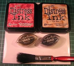 Inspirational Tips, Techniques & Tutorials: Distress Inks