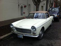 Peugeot 404 Convertible (1965).