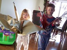 Giant wrapping paper-cranes