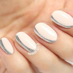 The Old Classic Gets a Modern Makeover. We know that the basic french manicure can get boring and monotonous if you do it repeatedly over and over again. That's why we've come up with these 16 new inovative ways to make your mani shine in a new light again.                  1 of 16 - The Clean Lines Modernize a French with the addition of a thin stripe worn one-third of the way down the nail. Soft rounded edges are key.  @aliciatnails  2 of 16 - Chic Cobalt For the french with a twist...