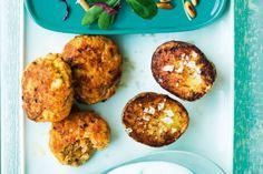Rapeat uuniperunat Baked Potato, Muffin, Koti, Baking, Breakfast, Ethnic Recipes, Morning Coffee, Bakken, Muffins