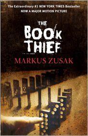 38.  The Book Thief by Markus Zusak: Book Cover