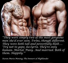 The Immortal Highlander by Karen Marie Moning, Highlander series oh my.... love the pic!