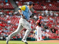 Logan Morrison belted a pair of homers as the Rays kept pace in the AL Wild Card chase defeating the Cardinals Sunday afternoon. Tampa Bay Rays Baseball, Mlb, Dodgers, Kansas City, Sport, Cardinals, Wetsuit, New York Yankees, Deporte