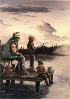 Spend time with those most important in your life this weekend.... Take advantage of the time you have today! www.bestbuddyfishing.com #fishing #family #outdoors