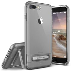 Bare everything with clear Crystal Mixx Series iPhone 7 Plus case. Now with  a magnetic kickstand. Browse more iPhone 7 Plus cases from VRS Design 3a9f176f80a41
