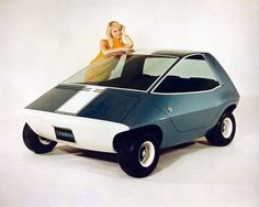 1967 AMC Rambler Amitron Electric Car Concept with inflatable seats