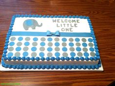 Boy Baby Shower Cake!