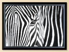 Mark Levison Zebra Photographic Print