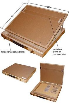 homemade portable drawing board desk - Pesquisa Google