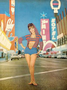 Las Vegas in the 1960s.
