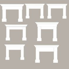 mantle for fireplace--DIY?