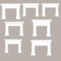 00 mantle for fireplace–DIY? … mantle for fireplace–DIY? Fireplace Update, Fireplace Built Ins, Faux Fireplace, Fireplace Remodel, Fireplace Mantle, Fireplace Surrounds, Fireplace Design, Fireplaces, Fireplace Ideas