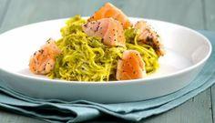 Nidi di tagliolini, pistacchi e Salmone - Chiara Maci
