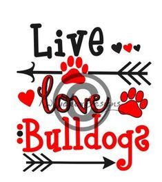 The major breeds of bulldogs are English bulldog, American bulldog, and French bulldog. The bulldog has a broad shoulder which matches with the head. School Spirit Posters, School Spirit Shirts, Cheer Shirts, Vinyl Shirts, Football Signs, Football Posters, Bulldog Mascot, Bulldog Puppies, Georgia Bulldogs Football