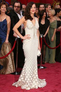 Marion Cotillard - Academy Awards 2008 - Jean Paul Gaultier