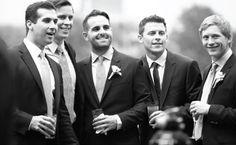 Heirloom Wedding Studio - Photography: Joey Skibel. One Sutton Place, NY: Groomsmen
