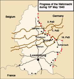 Map map detailing the german and italian advances in france 13 25 of case yellow german fall gelb the german invasion of the low countries belgium luxembourg and the netherlands and france during world war ii gumiabroncs Gallery
