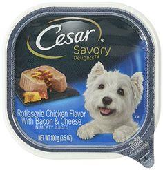 CESAR SAVORY DELIGHTS Rotisserie Chicken Flavor with Baco... https://www.amazon.com/dp/B007VWY6SM/ref=cm_sw_r_pi_dp_x_C4GAyb592NEN7