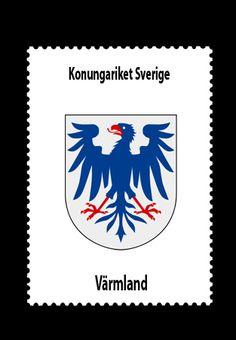Konungariket Sverige • Värmlands län