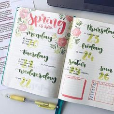So happy that spring is finally here  credit to @mylittlejournalblog