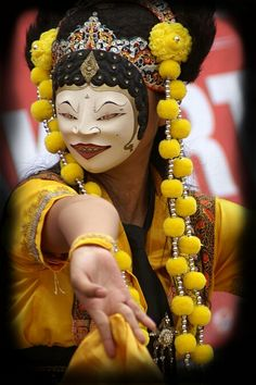 balinese sacred mask dance - Google Search