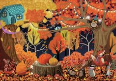 Leading Illustration & Publishing Agency based in London, New York & Marbella. Activity Books For Toddlers, Book Activities, Sensory Book, Toddler Books, Illustration, Artist, Painting, Thanksgiving, Autumn