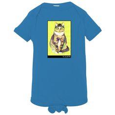 Kitties Rock: Infant Jersey Lap Shoulder Creeper